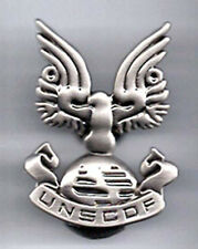 "Halo 3 War Game UNSCDF 2"" Pewter Badge/Pin (HAPI-02)"