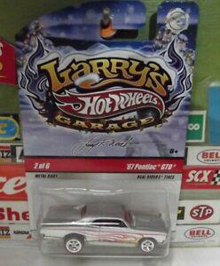 HOT WHEELS 1:64 LARRY'S GARAGE SILVER '67 PONTIAC GTO 2 of 6, R2240