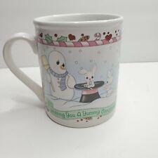 Precious Moments Christmas Mug- coffee mug tea cup