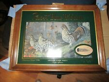 Nos Pabst Blue Ribbon Beer Upland Game Ruffled Grouse Advertising Mirror Sign