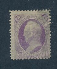 drbobstamps US Scott #142 Used Scarce Stamp w/Clean PF Cert
