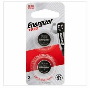 Energizer 1632 Lithium Coin Battery 2pk CR1632 - Buy more and Save!