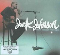 JACK JOHNSON Sleep Through The Static CD BRAND NEW Bonus Track Gatefold Sleeve