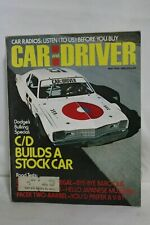 May 1976 Car and Driver Dodge's Bullring, C/D Builds a Stock Car