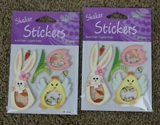 Easter Shaker Stickers Autocollants Pegatinas Scrapbook Creative Expressions, 2