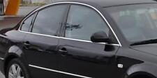 VW PASSAT B5 3B2 3B3 - CHROME Window Trim Side Door Sill Covers Frame Tuning