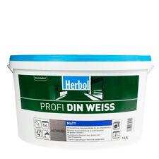 (2,84?/ L)Herbol Profi DIN 12,5L Altweiss, Innenfarbe