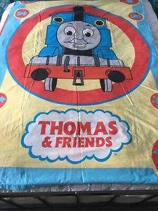 Thomas the Tank Engine Duvet Cover Vintage Reversible Single with Pillowcase