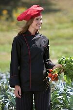 Murano Chef Coat, 12 Buttons, Contrast Piping, Underarm Vents, Xs-6Xl, 432