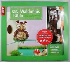 Kreativ-Set Süße Waldminis häkeln von Esther Konrad (2014, Taschenbuch)