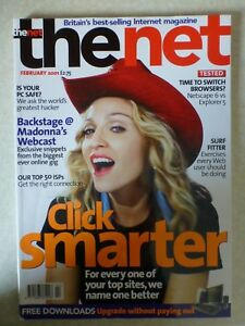 """The Net Magazine February 2001 """"One Owner From New"""" - Madonna Cover"""