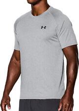 Under Armour Tech Mens Training Top Grey Short Sleeve T-Shirt Gym Running M L UA