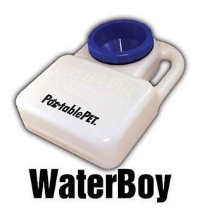PortablePET 3059 WaterBoy Travel Dog Bowl & Water Feeder for SUV CAR VAN Spill