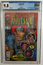 CABLE 150 LENTICULAR CGC 9.8 3D NEW MUTANTS 87 HOMAGE MARVEL NM/M 1ST CABLE APP