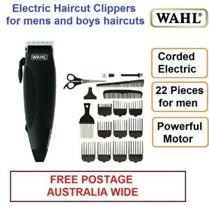 WAHL Hair Clippers Trimmer Shaver Haircut Shaver 22 Pieces Corded Electric NEW