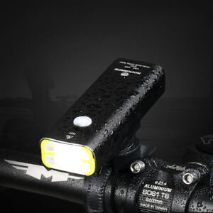 professional USB bike light Carsons alloy black mountain white waterproof flash