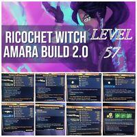 XBOX RICOCHET WITCH LEVEL 57 MAYHEM 4 AMARA BUILD BORDERLANDS 3 (8 PACK)!