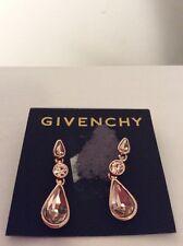 $48 Givency Rose Gold Silk Triple Drop  Earrings #354 C