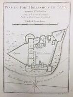 Traite des esclaves Hollande 1747 Ghana Fort de Shama Afrique Esclavage Pays Bas
