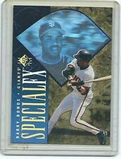 1996 SP-Barry Bonds Special FX foil insert-Giants