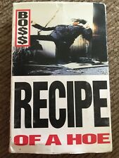 Boss Recipe Of A Hoe Cassette Single 93' Sony Music Entertainment Chaos Columbia