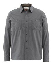 Simms BLACK'S FORD Flannel Shirt ~ Nightfall NEW ~ Size XL ~ CLOSEOUT