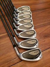 Wilson Prostaff AD RH Iron Set golf clubs 3-9, PW  Progressive Flex Shaft