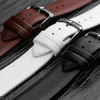 Watch Bands Straps 12mm 14mm 16mm 18mm 20mm 22mm Black Belt Unisex Accessories