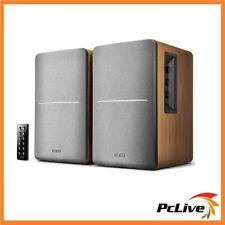 Edifier R1280DB 2.0 Bluetooth Speakers Bookshelf Bass Wireless Remote Brown