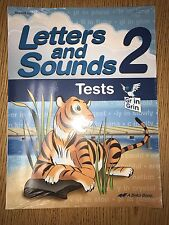 ABeka Brand New Letters & Sounds 2 Student Test A Beka 2nd Gr Unopened