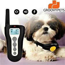 330 YD Remote Dog Training Shock Collar Waterproof Rechargeable for All Pet Dogs