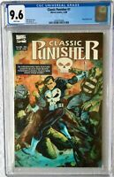 CGC 9.6 CLASSIC PUNISHER #1 .. SCARCE NEWSSTAND EDITION .. 1989 ..