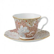 Wedgwood Daisy Pink Teacup & Saucer Tea Story Brand New in Gift Box #40000781