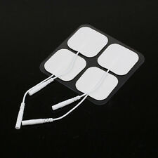 1Pcs Replacement Electrode Tens Pads White Cloth Safe for Massagers Body 4*4cm