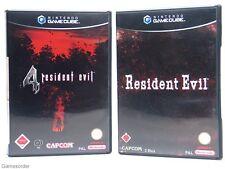 2 SPIELE - RESIDENT EVIL 4 + RESIDENT EVIL  (USK 18)  ~Nintendo Gamecube Spiel~