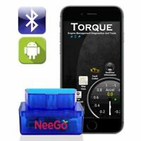 OBD2 Universal Car Engine Fault Code Reader Diagnostic Bluetooth Scanner Tool