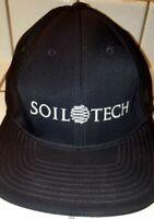"""Pacific Headwear-Men's-404M Pro Model-""""Soil Tech""""Trucker Flexfit Hat-6 7/8>7 3/8"""