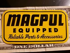 Magpul Authentic Equipped Sticker