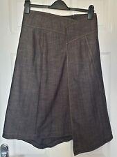 Ladies Dark Indigo Denim Long Skirt from Oasis Size 10 New