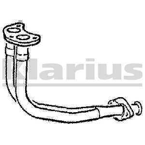 Klarius Exhaust Twin Double Front Pipe FD769A - BRAND NEW - 5 YEAR WARRANTY