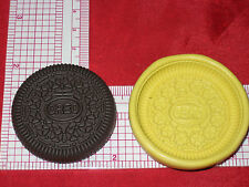 OREO cookie Flexible Silicone Mold Polymer Clay Resin Miniature Food A499