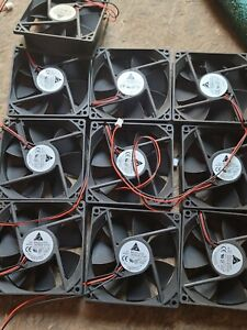 LOT OF 10 NEW CASE FANS AFB0912VH DELTA 2 WIRE