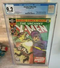 Uncanny X-Men #142 (1981 1st Series) CGC 9.2 White Pages!