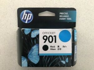 HP Officejet 901 Ink Cartridge Black Genuine Unopened Expired 2013/2014