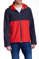 Gant Rugger Nylon Colorblock Hoodie Navy M NWT $285