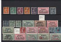memel mounted mint and used stamps  ref r11614