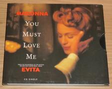MADONNA You Must Love Me US 2 TRACK ECO-PAK CD SINGLE 917495-2 N.Mint!!