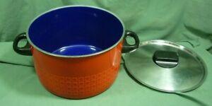 Silit Design Stock Soup Pot Red/Orange 6.8 Qt 19C005