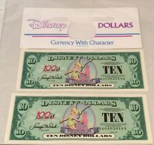 Disney Dollars A Series 2 - $10 Uncirculated Tinker Bell 100 Years of Magic