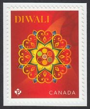 DIWALI = stamp cut from BK Canada 2021